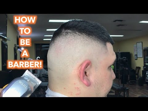 Barber Tutorial : MID FADE! How To Do A High Bald Fade Step By Step Easy