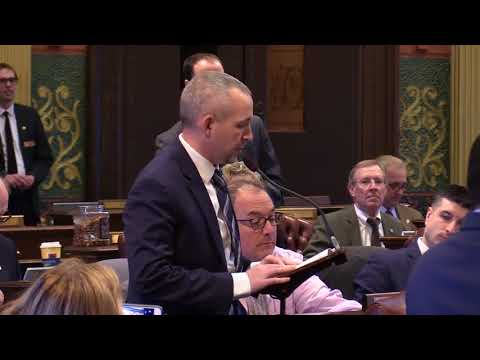 State Rep. Jason Wentworth discusses his solution to help Michigan veterans.