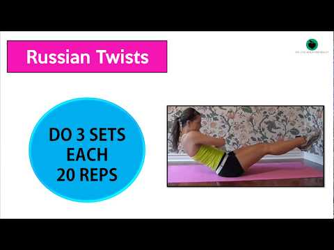 How To Get Rid Of Love Handles | 4 Workouts That LOVE Handles HATE!