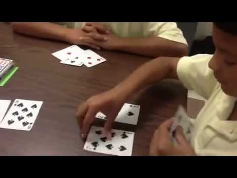 Addition/Subtraction Fact Families Card Game