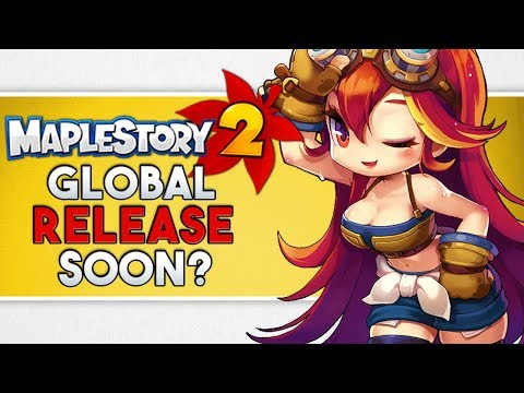 Global MapleStory 2 Possible Upcoming Release | LEAKED English Voices & GMS2 Assets | Release 2018!
