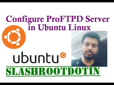 How to install and configure ProFTPD on UBUNTU 14.04