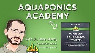 Aquaponics Academy #4: Types of Aquaponics Systems
