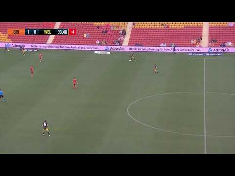 Hyundai A-League 2019/20: Round 15 - Brisbane Roar FC v Wellington Phoenix (Full Game)
