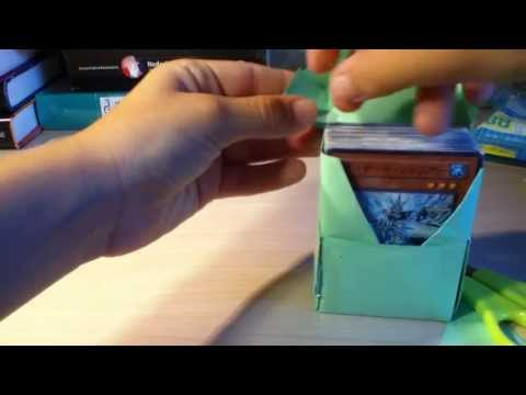 Yugioh how to make a good and easy deckbox
