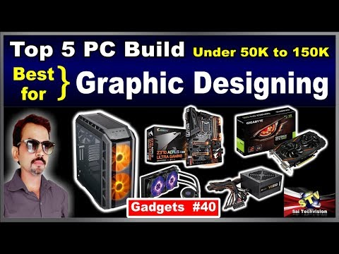 Top 5 PC Build with Intel Processor for Graphic Designing Under 50K to 150K in hindi #40