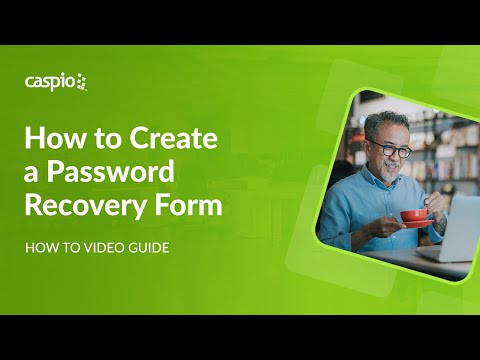 How to Create a Password Recovery Form