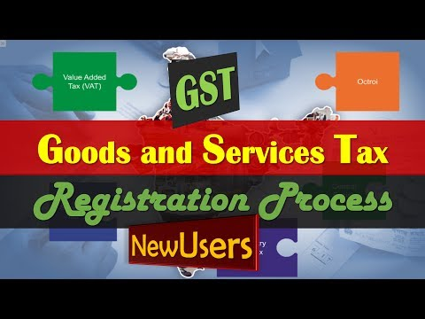GST ENROLLMENT PROCESS New Users in India