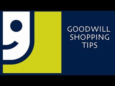 SUPER GOODWILL SCORES: Goodwill Shopping Tips