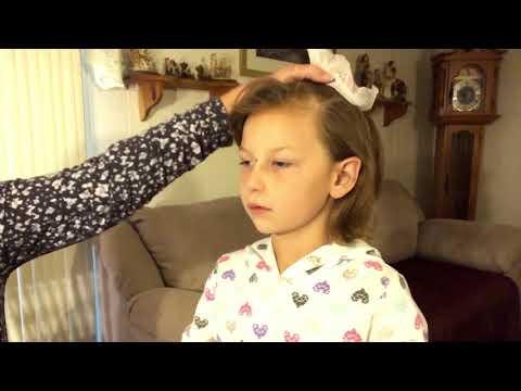 Tingly Hack/How To Brush Away Hair Static ~ ASMR