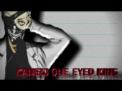 Drawing kaneki one eyed king