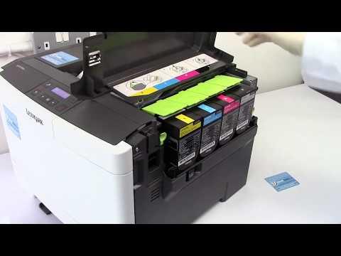 How to refill your Lexmark CS310dn, CS410dn, CS410dnw, CS510de, CS510dew and related laser printers