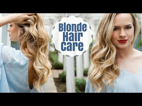 My Blonde Hair Care & Favorite Products