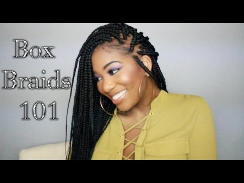 BOX BRAIDS for Thin/Fine Hair   PocketsandBowsTV