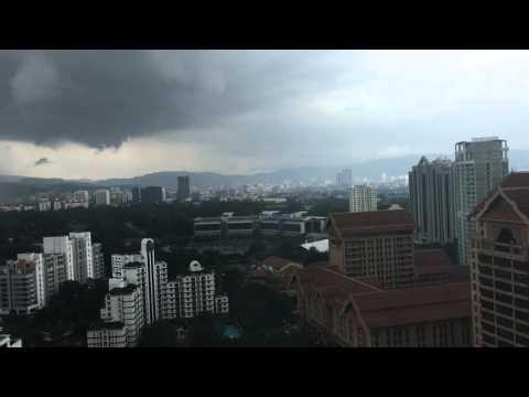 Dark Clouds In Kuala Lumpur