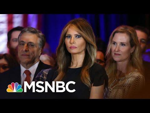 Petition Demands Melania Trump Move To White House   AM Joy   MSNBC