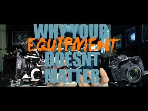 WHY YOUR EQUIPMENT DOESN'T MATTER-in the trenches