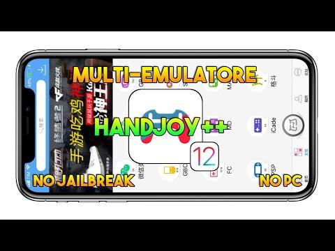 Multi-Emulatore PSP, GBA, GBC, NDS, SFC & More (IOS 11.4) - Handjoy ++ (NO JAILBREAK) - App IOS