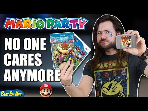NO ONE Cares About Mario Party Anymore.