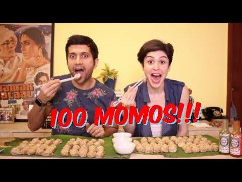 100 MOMOS CHALLENGE!