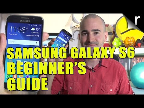 Samsung Galaxy S6 Beginner's Guide: How to set up and personalise your phone