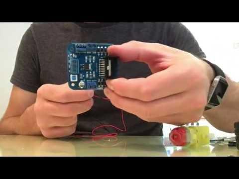 Building an Autonomous 4WD Robotic Car with Arduino Part 1 - Assembling the car
