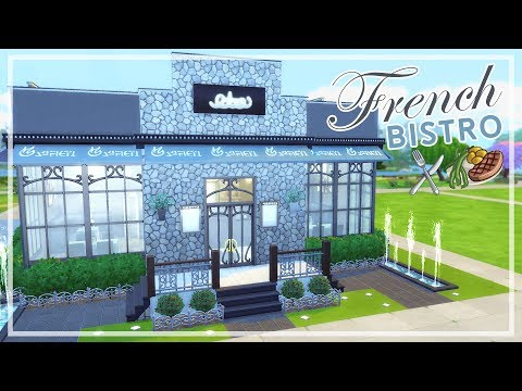 The Sims 4 - French Bistro Restaurant