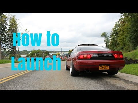 How to Launch a Car