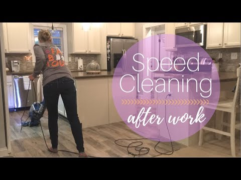 Speed Cleaning After Work | Cleaning Motivation | Clean With Me | Fall Cleaning