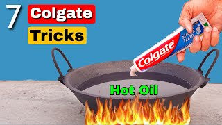 7 Crazy Colgate Experiments || Science Experiments With Colgate