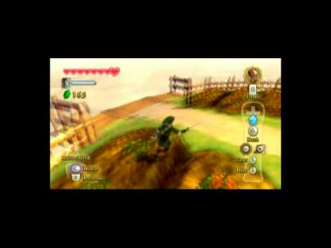 Legend of Zelda: Skyward Sword - Quick Tip: How to easily get rupees near the beginning of the game