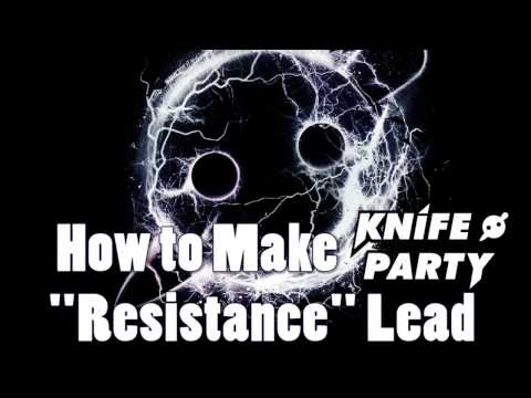 Resistance Lead Synth (Knife Party) - Massive Tutorial