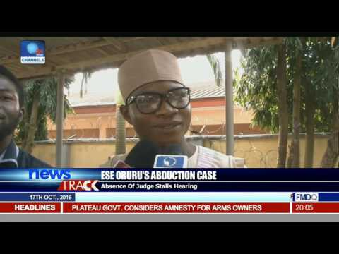 Ese Oruru's Abduction Case: Absence Of Judge Stalls Hearing
