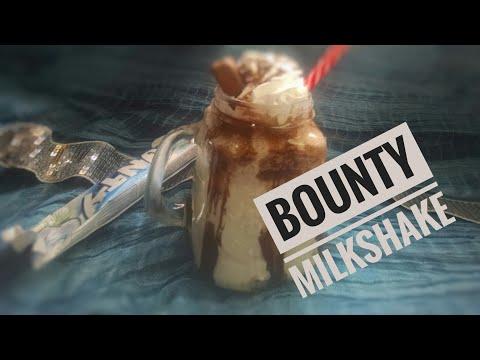 How to make BOUNTY MILKSHAKE~Milkshake Recipe in Urdu~Bounty Chocolate Milk~MilkshakeRecipe for kids