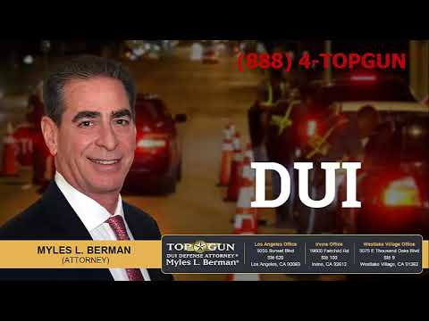 Can DUI Cases Be Expunged In California?   (888) 4-TOPGUN