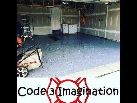 Garage RUST-OLEUM Epoxy Shield Floor Coating DIY