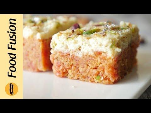 Gajar Ki Barfi Recipe By Food Fusion