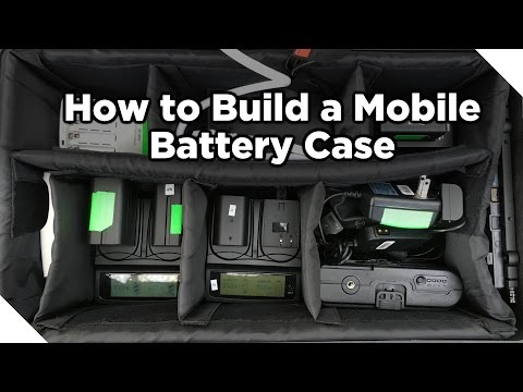 How to Make a Mobile Battery Case!