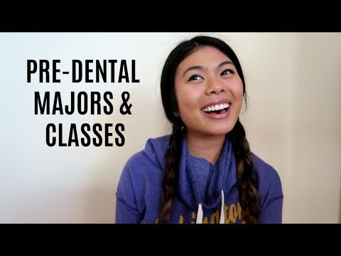 MAJORS and CLASSES for Dental School Admission // LauraSmiles