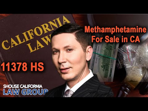 Possession for Sale of Methamphetamine (Health & Safety Code 11378 HS)