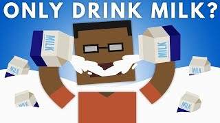 Download What If You Only Drank Milk? Video