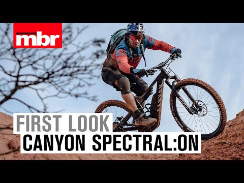 Canyon Spectral:On | First Look | Mountain Bike Rider