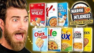 March Milkness Taste Test: Healthy Cereals