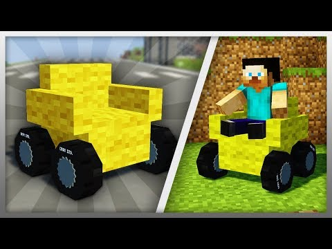 ✔️ Working SOFA CAR in Minecraft! (DOWNLOAD LINK)
