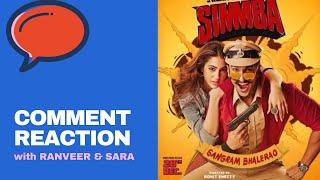 Ranveer Singh on Sara Ali khan being called as his sister | Simmba Trailer comments | Mirchi Prerna