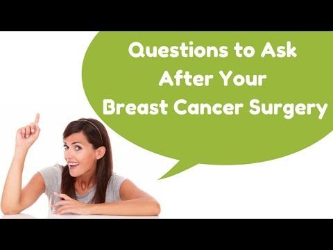 Questions to Ask After Your Breast Cancer Surgery