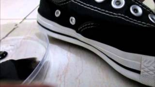 Video Comparison: Converse w the Registered Trademark (®) Are They Fake?