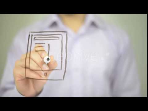 Mobile Browsing, Illustration - Stock Footage | VideoHive 14721854