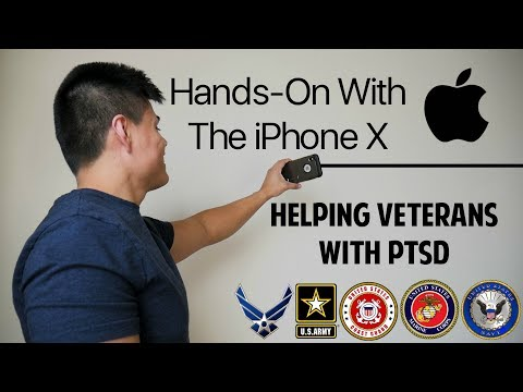 Vlogging With The iPhone X | Helping Veterans With PTSD