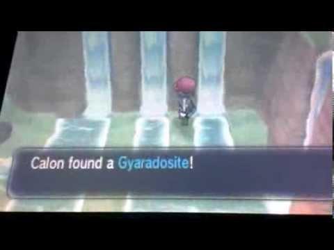 Pokémon X and Y: How to get mega Gyarados! (get the Gyaradosite mega stone)